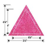 "Sizzix Bigz L Die, Triangle, Equilateral 4-1/2"" x 5-1/2"""