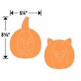 Sizzix Bigz L Die, Cat/Pumpkin
