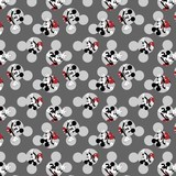 "Springs Creative, Disney Mickey Head Toss 45"" Fabric"