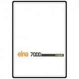 Instruction Manual, Elna 7000 Computer