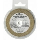 "1/4"" Gold Fusible Quick Bias (11yds), Clover"