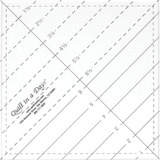 "6.5"" Triangle Square Up Ruler"