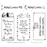 Animal Lovers Fabric Panel