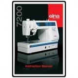 Instruction Manual, Elna 7200