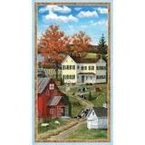 Wilmington Prints, Autumn Grove Fabric Panel