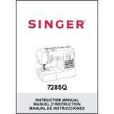 Instruction Manual, Singer 7285Q