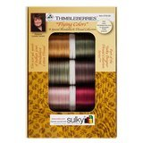 Lynette Jensen, Flying Colors 30wt Blendables 10 Spool Thread Kit (500yds)