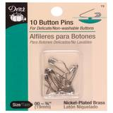 "10pk Button Pins (3/4""), Dritz"