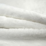 Short Pile, Faux Fur Fabric - 60in - White