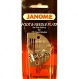 Straight Stitch Foot W/ Needle Plate, Janome #767405018