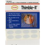 Thimble-It, Self-Stick Oval Pads (64pk), Colonial Needle