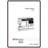 Service Manual, Elna 8000 Computer