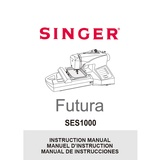 Instruction Manual, Singer SES1000