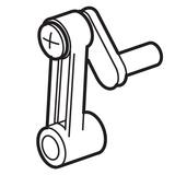 Needle Bar Crank, Janome #843543007
