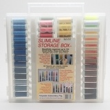 Sulky, Slimline Case with Embroidery Poly Deco Thread Collection - 104 Spools