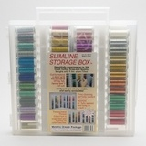 Sulky, Slimline Case with Metallic Dream Thread Collection - 84 Spools