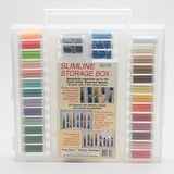 Sulky, Slimline Case with Poly Deco Thread Starter Collection - 33 Spools