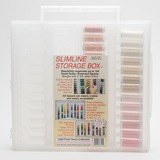 Sulky, Slimline Case with Light Flesh Tone Thread Collection - 26 Spools