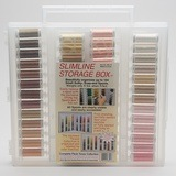Sulky, Slimline Case with Complete Flesh Tone Thread Collection - 52 Spools