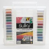 Sulky, Slimline Case with PolyLite Thread Starter Collection - 24 Spools