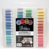 Sulky, Slimline Case with Cotton Petites Thread Dream Collection #2 - 80 Spools