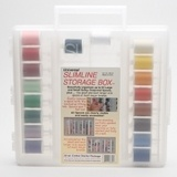 Sulky, Slimline Case with 30wt. Cotton Thread Starter Collection - 18 Spools
