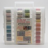 Sulky, Slimline Case with 30wt. Cotton Blendables Thread Collection #1 - 42 Spools
