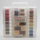 Sulky, Slimline Case with 12wt. Cotton Blendables Thread Collection #2 - 42 Spools