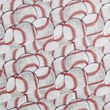Hit, Run, Score, Baseball Fabric