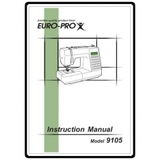 Instruction Manual, Euro Pro 9105