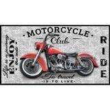 Coast to Coast, Motorcycle Fabric Panel