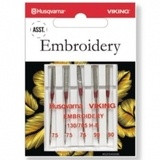 Viking Embroidery Needles, 5pk (130/705H) - Assorted Sizes