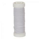 Bohin Elastic Beading Thread, 11yds - White