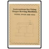 Instruction Manual, Singer 9423