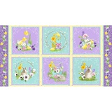 Hoppy Easter, Spring Fabric Panel