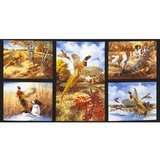 Pheasant Run, Hunting Fabric Panel