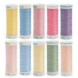Sulky, 40wt. Poly Deco Embroidery 10pc Thread Kit - 250yds