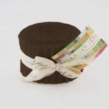 U Brown, Moda Bella Solids Fabric, Junior Jelly Roll