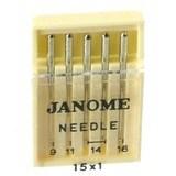 Universal Needles, Janome (5pk) #9901