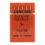 Denim Needles 15x1, Janome #990416000