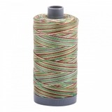 Mako Cotton Variegated Thread (28wt), Aurifil