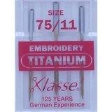 Embroidery, Klasse (3pk), Size 75/11, #A6-18080T