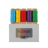 Aurifil Floss, Flossie Thread Collection - 5 Spools (18yds)