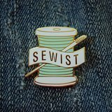 Sewist Pin - Aqua
