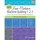 Free Motion Machine Quilting 1-2-3 Book