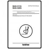 Instruction Manual, Brother BAS-326G