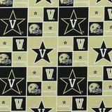 Vanderbilt Commodores, College Prints Fabric