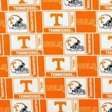 Tennessee Vols Fabric, College Prints