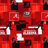 Alabama Crimson Tide, Logo Fabric, College Prints