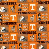 Tenneessee Vols Fabric, College Prints